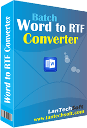 Doc to RTF Converter Batch  3.1.1.20