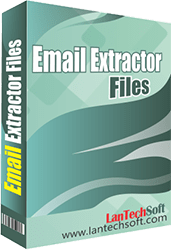 Efficient email extractor software for files.