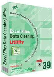 Excel Files Data Cleaning Utility full screenshot
