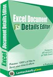 Excel Workbook Properties Editor