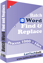 Word Find and Replace Standard