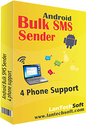 Click to view Bulk SMS Broadcaster GSM Professional 4.5.2 screenshot