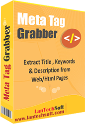 Web Meta Tag Extractor