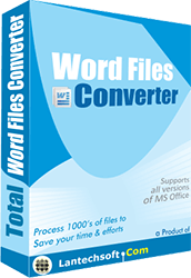 Convert word files into files of other formats
