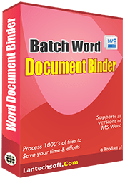 Word Files Binder
