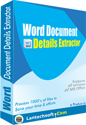 Word File Properties Extractor