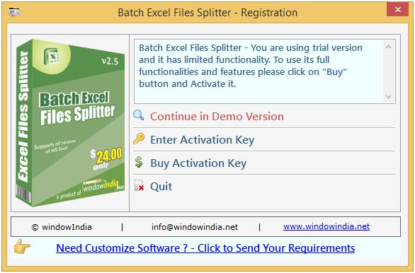 Send e-mails by batch