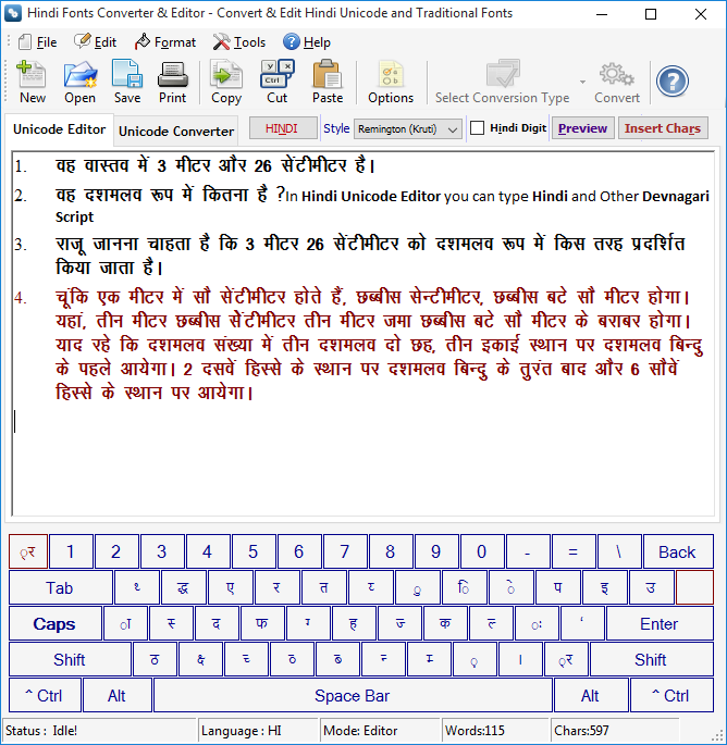 Screenshots and VBA projects are prepared in Hindi Fonts