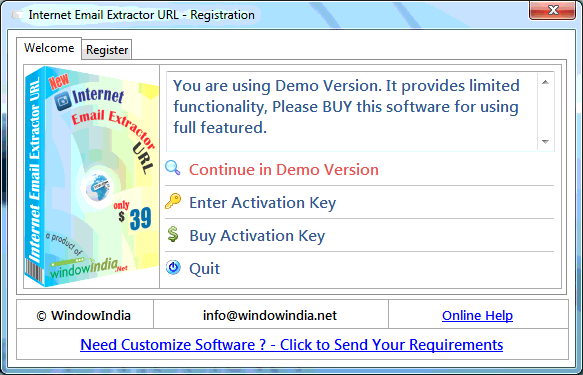 email extractor pro registration key