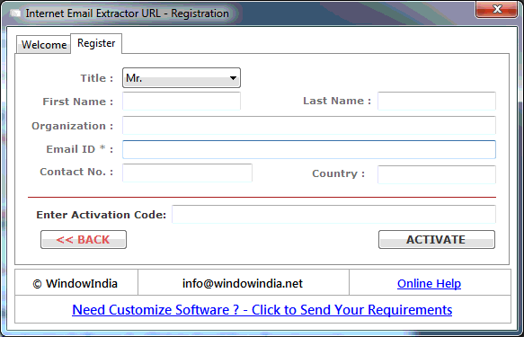 How to Extract Emails from Website By Internet Email Extractor URL on