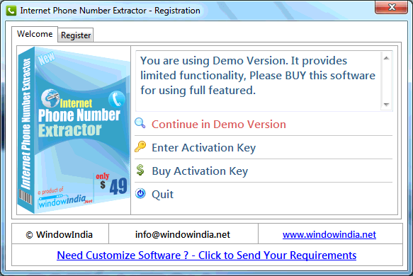 How the Internet Phone Number Extractor Software Operate