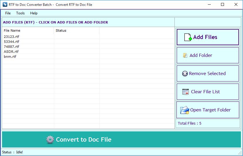 конвертер rtf в doc